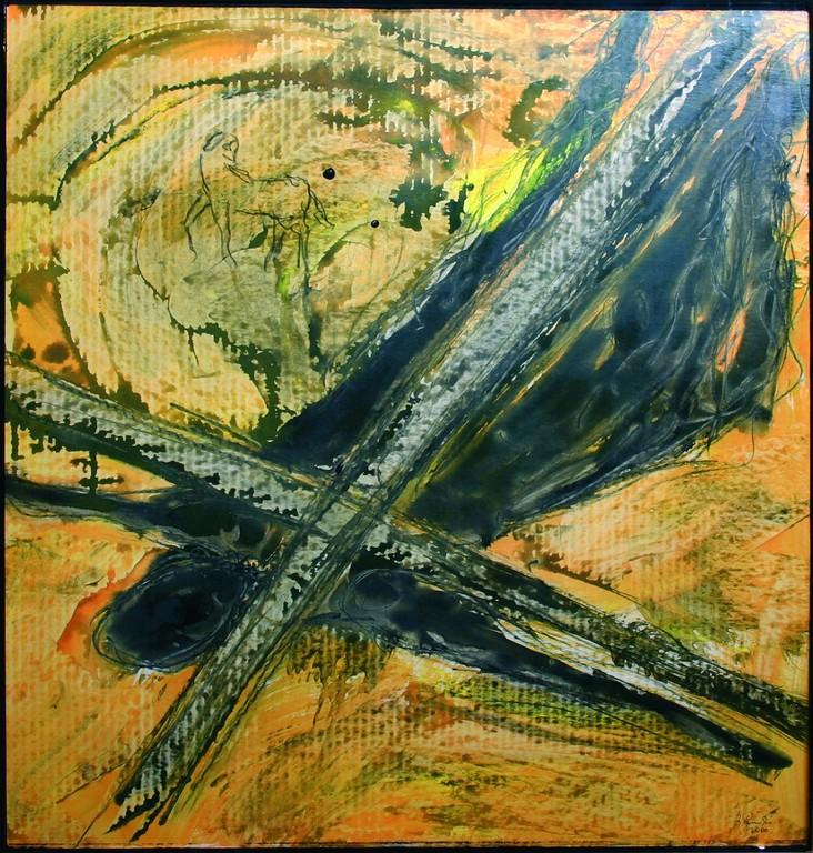 Siebte Station: Jesus fällt zum zweiten Mal unter dem Kreuz