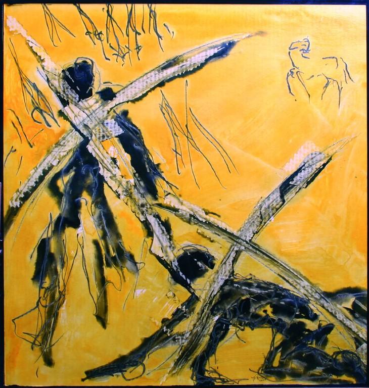 Dritte Station: Jesus fällt zum ersten Mal unter dem Kreuz