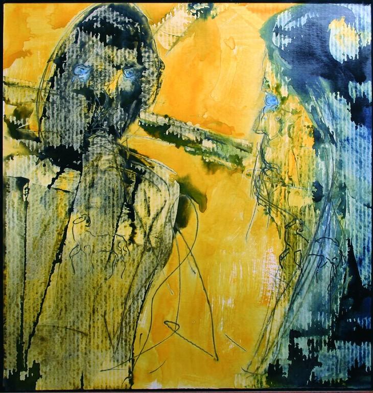 Vierte Station: Jesus begegnet seiner Mutter