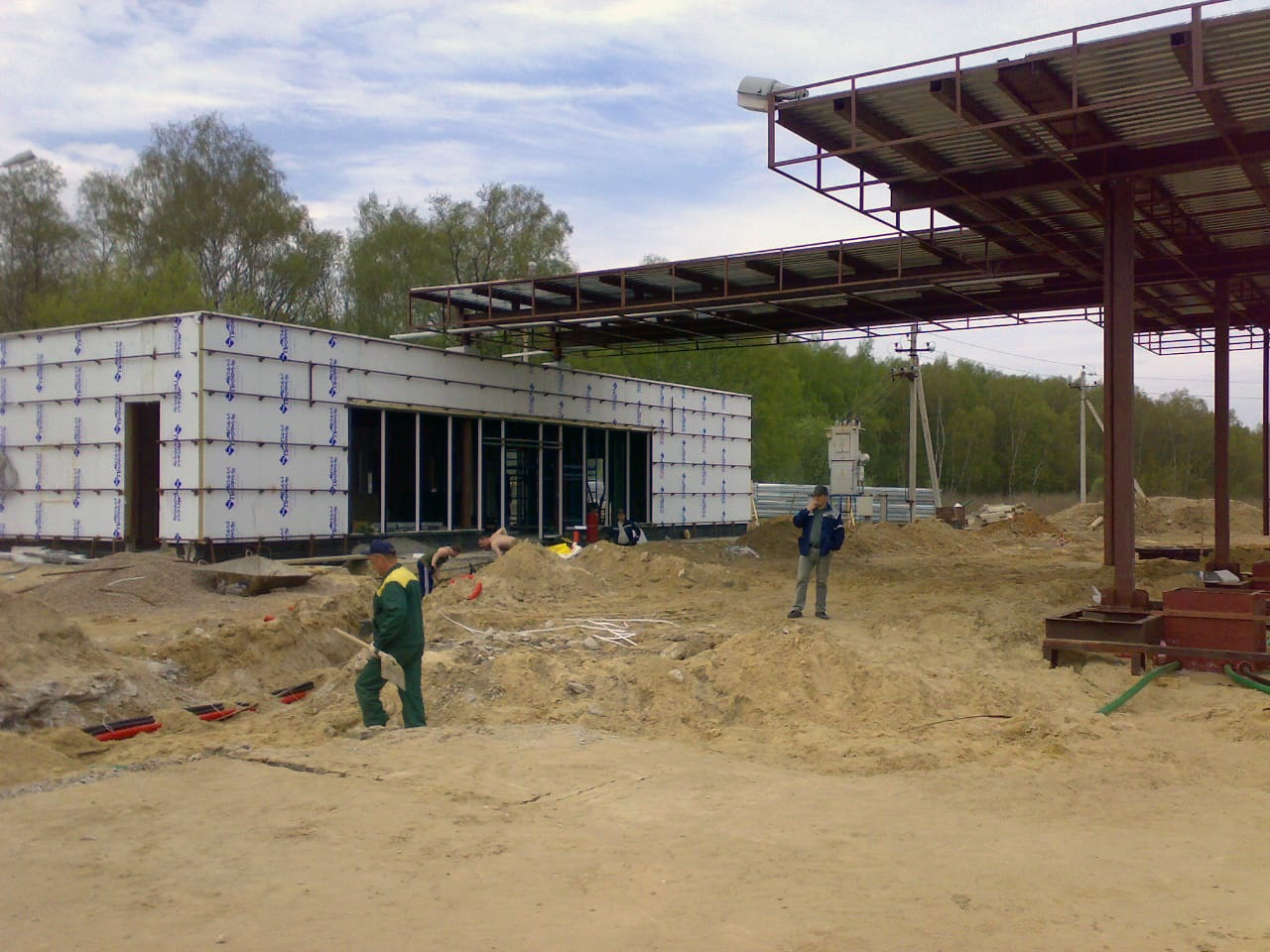 Монтаж металлоконструкций в Москве и Московской области