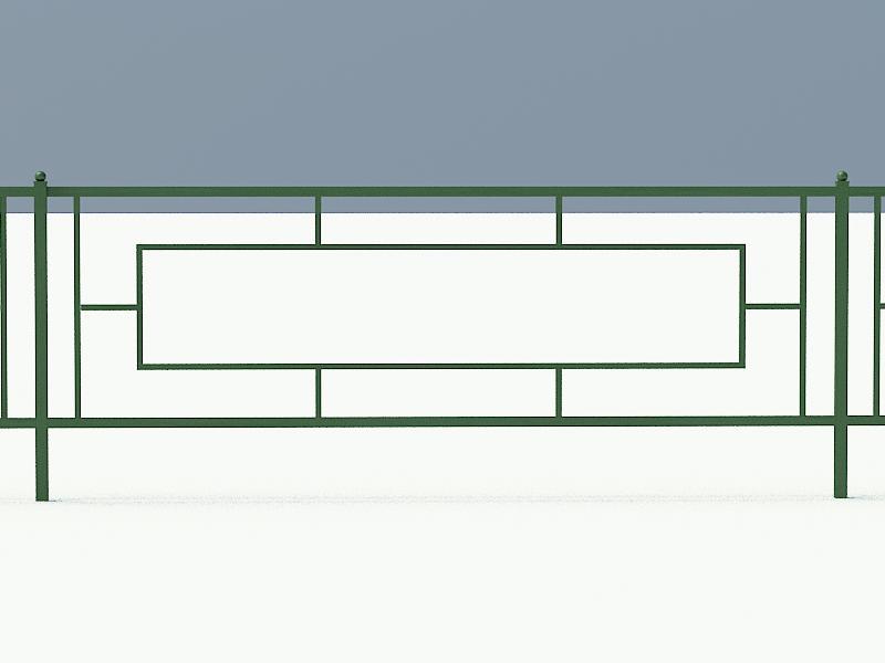 Сварное газонное ограждение арт. ОГ506