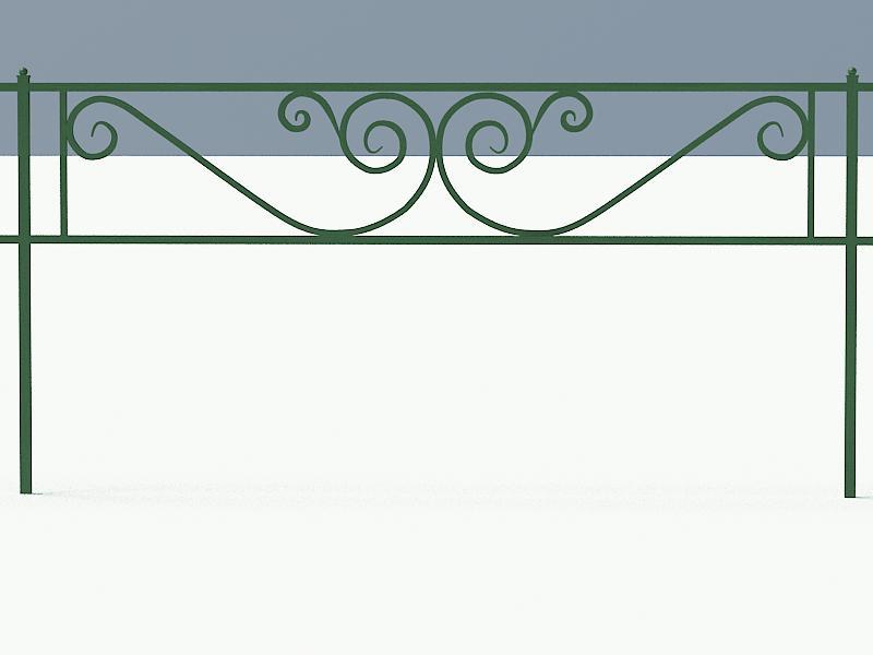 Газонное ограждение арт. ОГ513