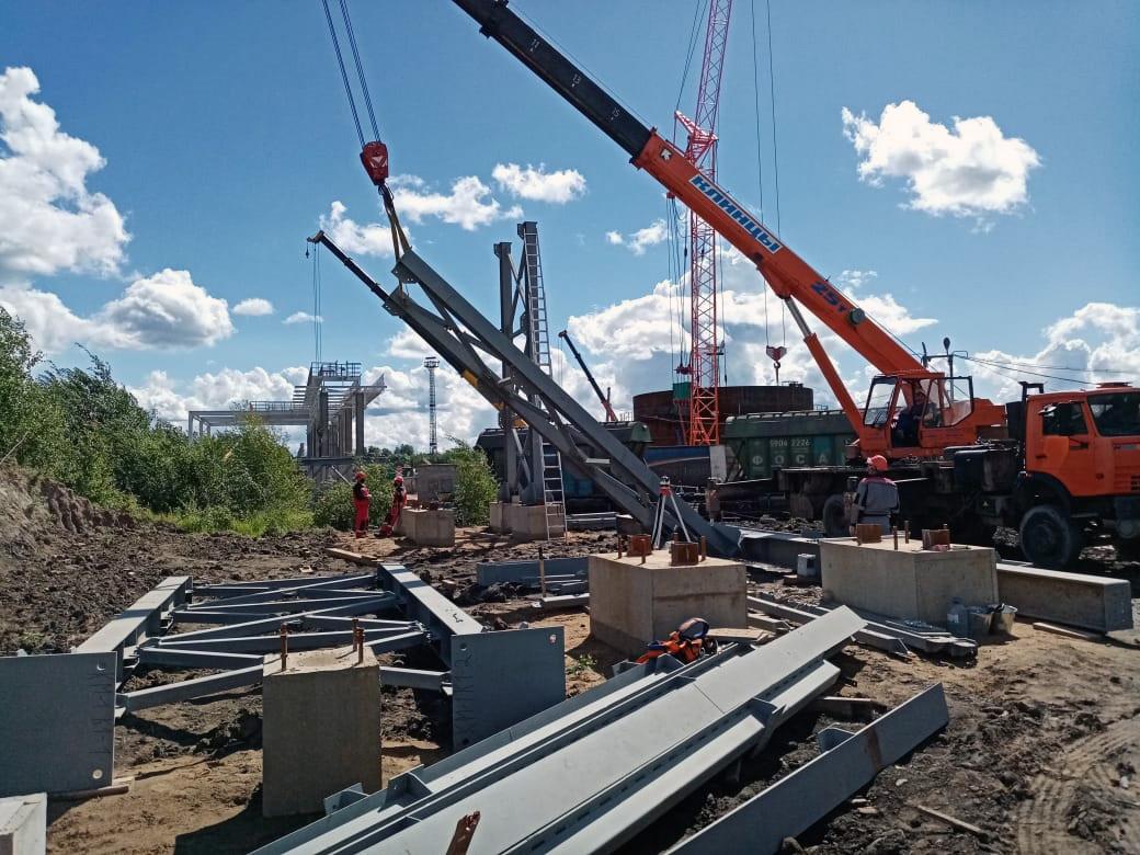 Монтаж металлоконструкций в Москве
