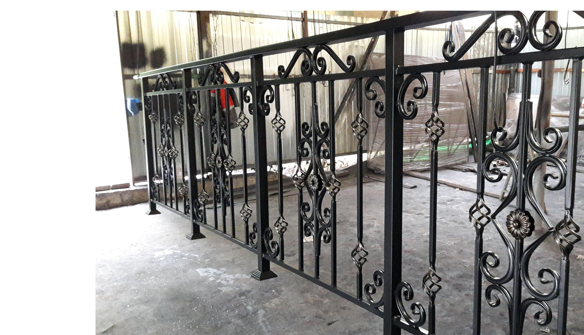 Секция балконного ограждения арт. 0249