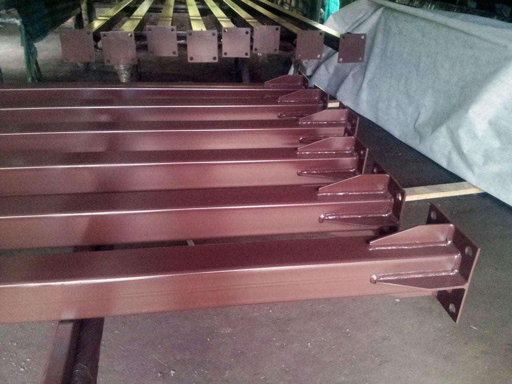 Столбы для навеса