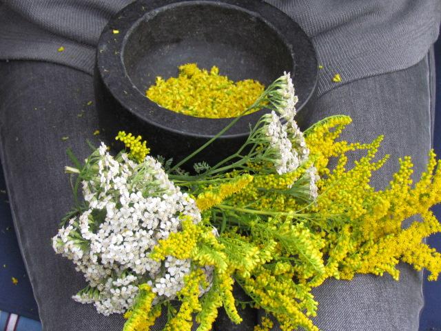 Aromatisches Blütensalz