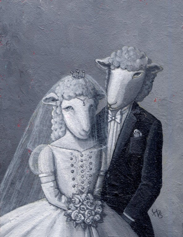 sheeps wedding