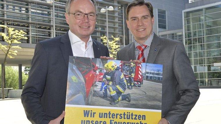 LH-Stellvertreter Dr. Stephan Pernkopf und LAbg. Christoph Kaufmann