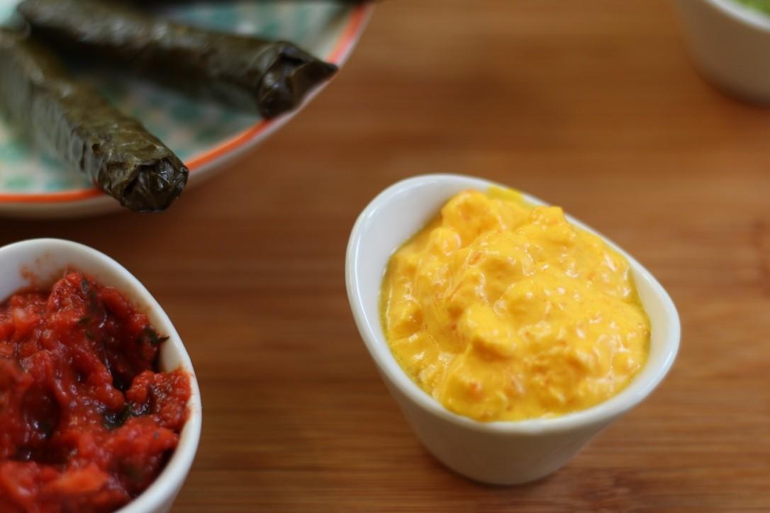 Möhrenfrische - Karotte, mit Liebe geröstete Zwiebeln und Joghurt