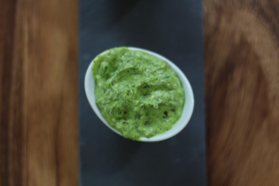 Espinaca - Leckerer Dip mit Spinat und Joghurt