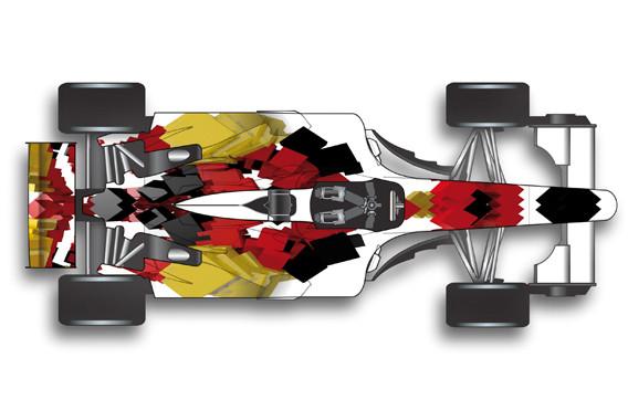 Fahrzeugdesign A1 GP