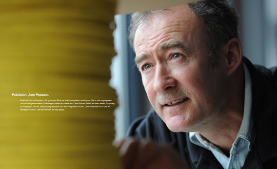 Doppelseite Imagebroschüre 2011