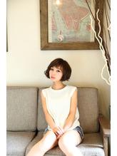 hair salon Aereのボブヘアスタイル画像