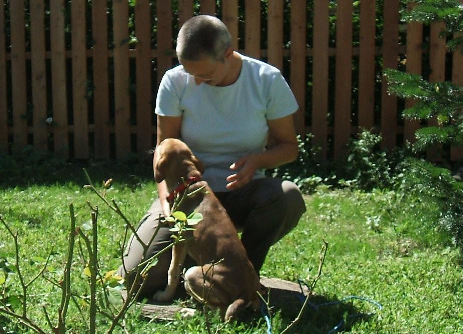 CLAUDIA - unser Geduldsengel: Hundeversteherin und Ernährungsspezialistin