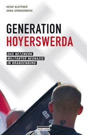 """Buchlesung """"Generation Hoyerswerda"""" von/mit Anna Spangenberg/Heike Kleffner"""