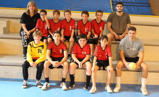 Les 13 garçons ont joués leur premier match samedi.