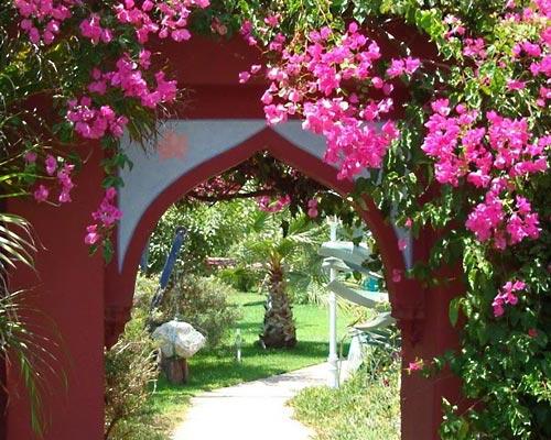 Gartenanlage Casa del Morisco, Andalusien