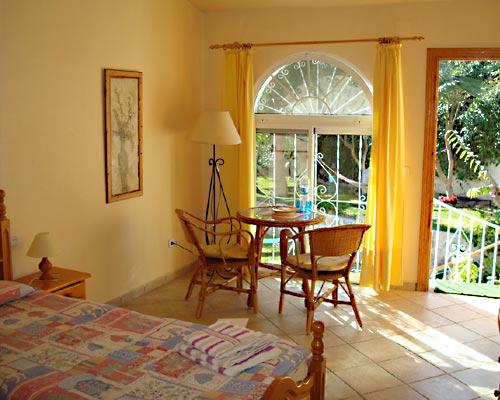 Zimmerbeispiel Casa del Morisco, Andalusien