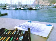 Zeichnen La Palma