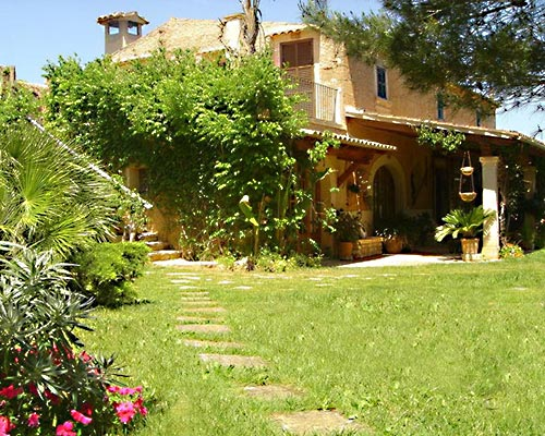Gartenanlage Finca Son Mercadal