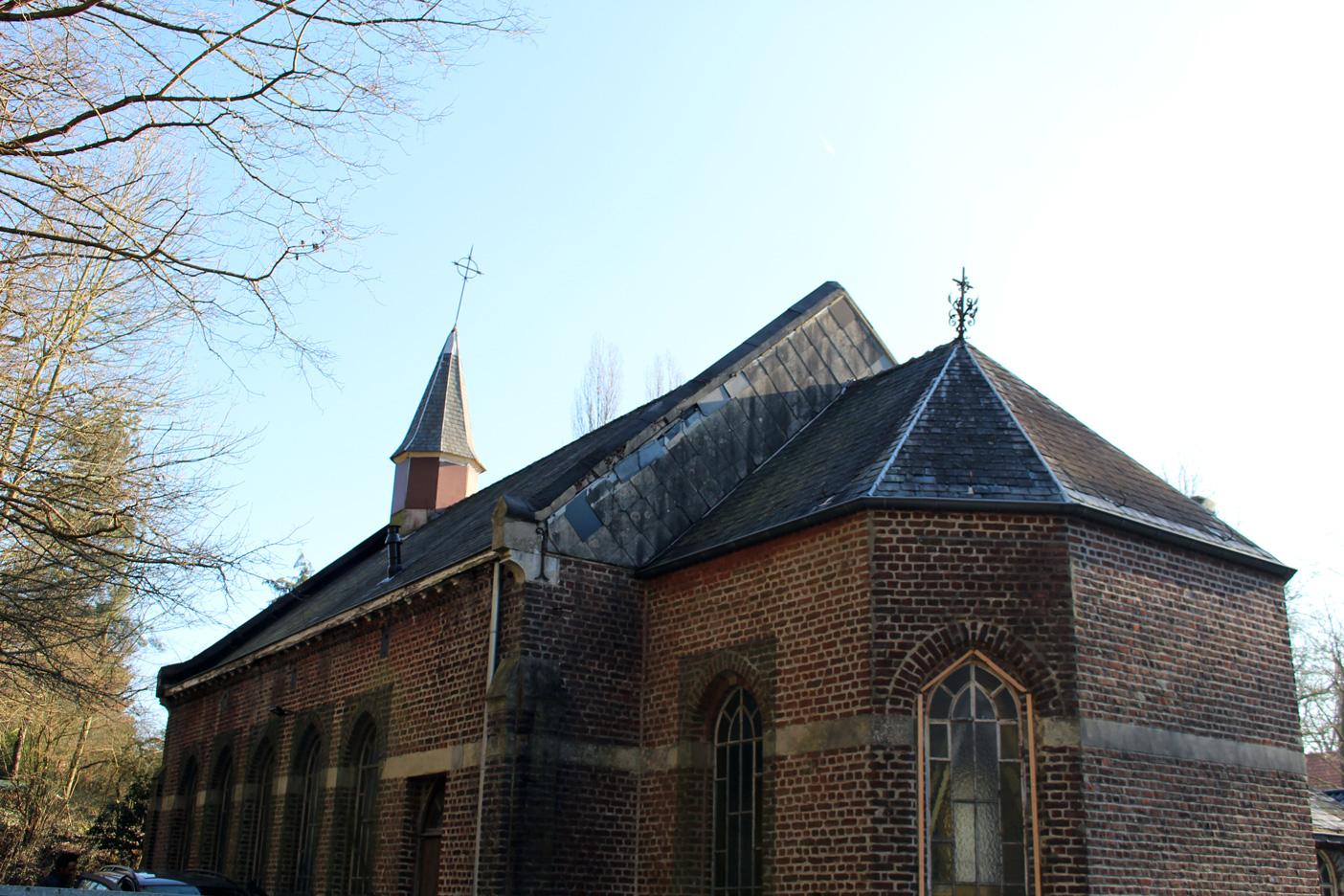 2014-2020 La chapelle de Profondsart, toiture vue de l'extérieur