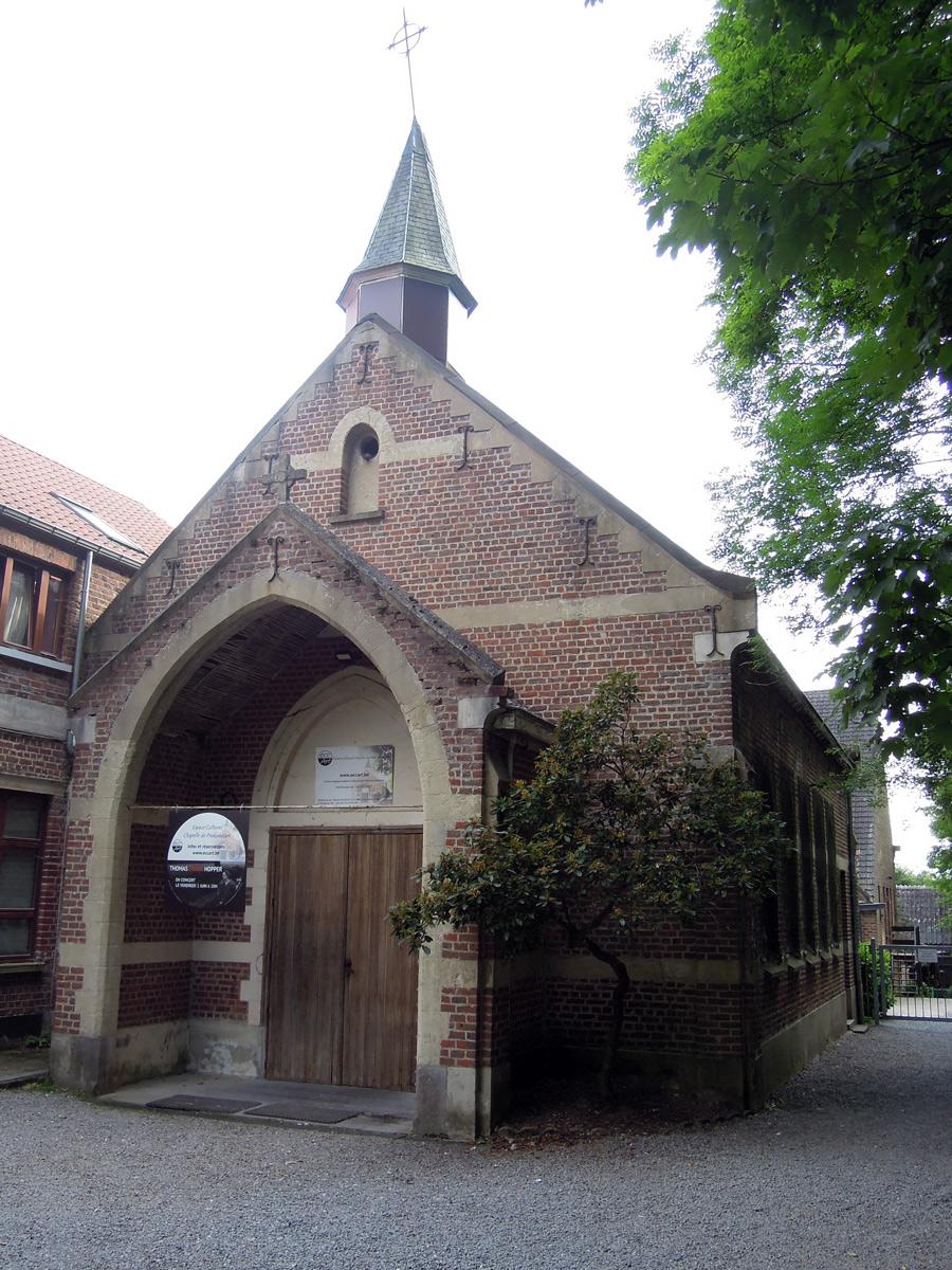 2014 La chapelle de Profondsart devenu espace culturel