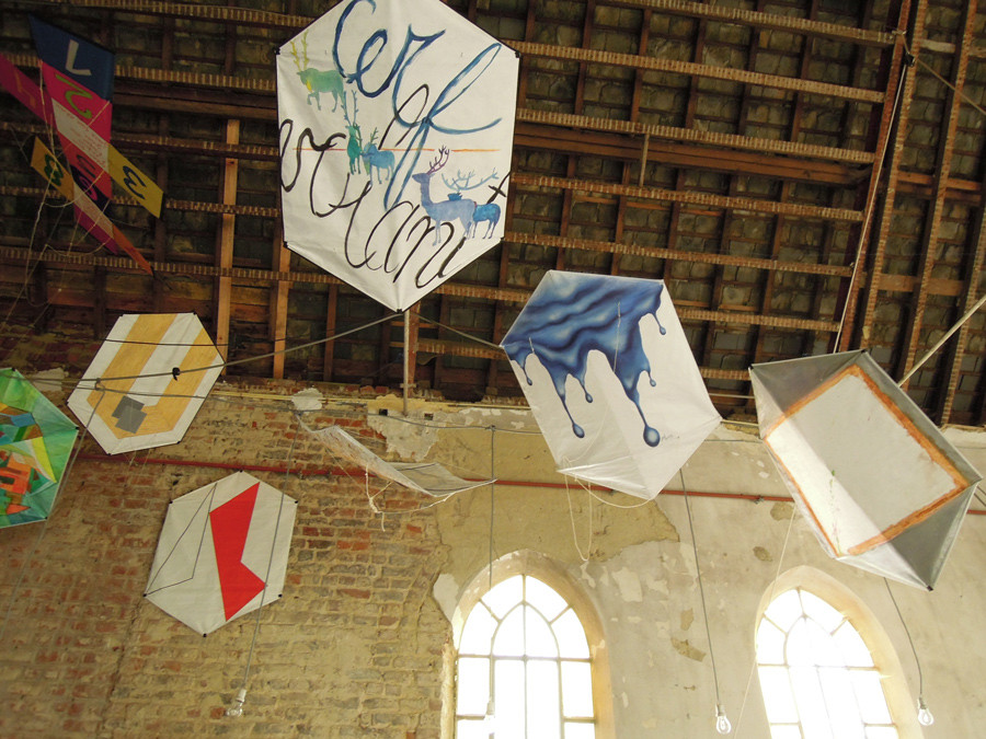Cerfs-Volants d'Artistes (F. Gillessen)