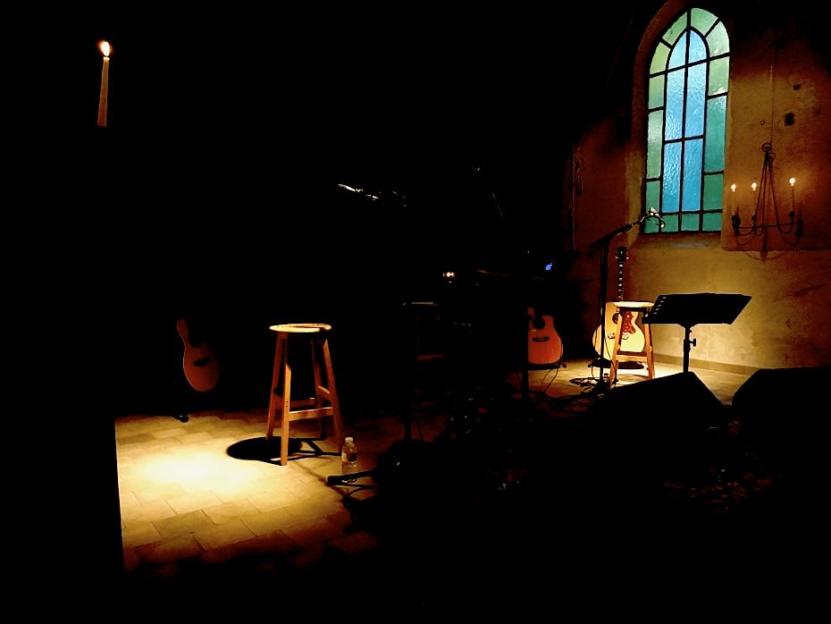 Wisark Office en concert à l'Espace Culturel Chapelle de Profondsart - eccART