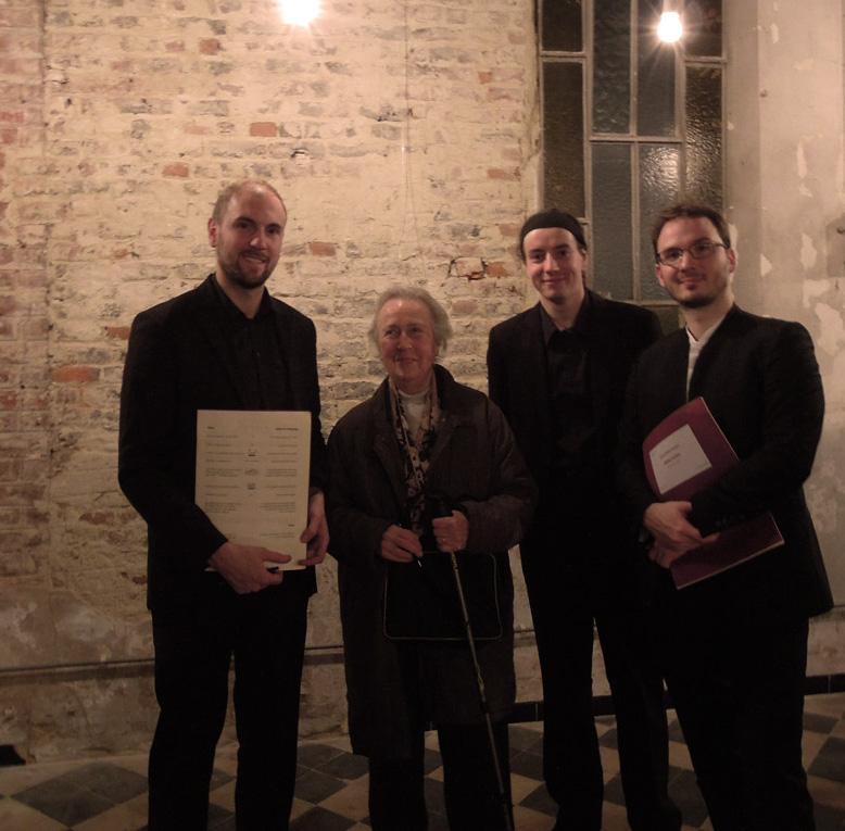Le Trio Spilliaert et Jacqueline Fontyn, compositrice