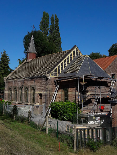 29/07/2020 le choeur de la chapelle de Profondsart se recoiffe
