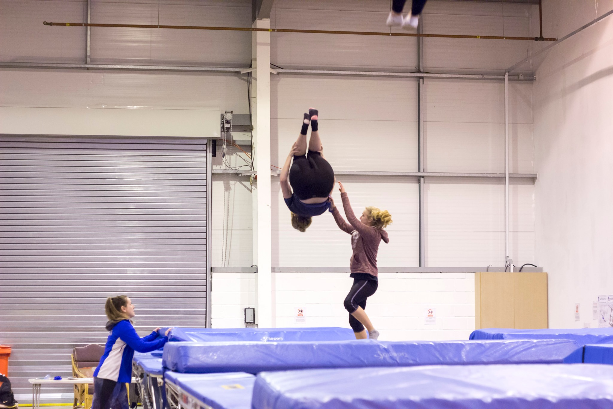 Fitness – Trampolining is a fantastic form of exercise which naturally releases endorphins improving feelings of health and well-being.