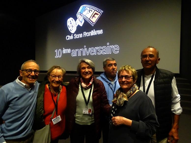 André, Anne, Catherine Cadou, Jean-Louis, Martine et Pascal