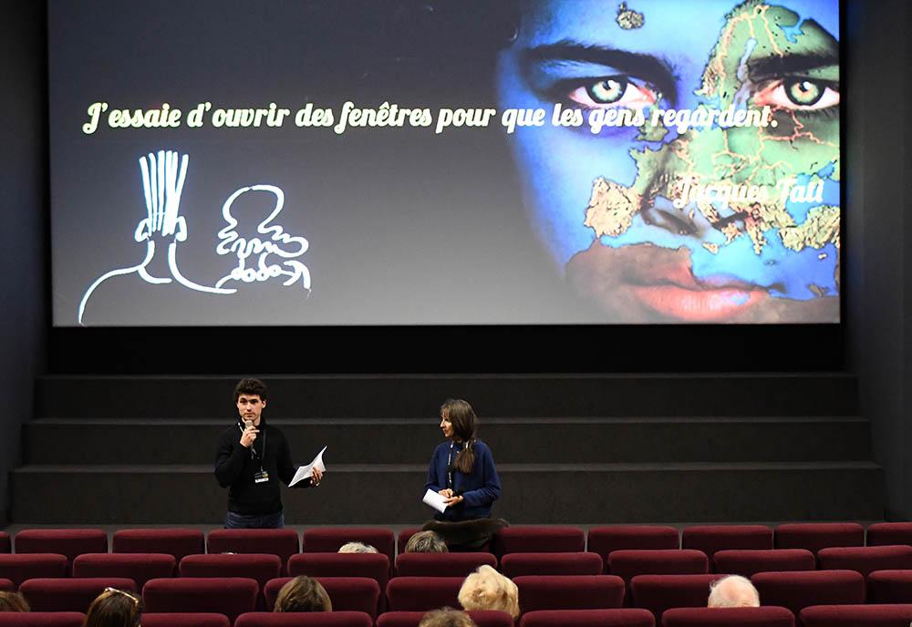 Victor Courgeon et José Leandri pour le film Béliers