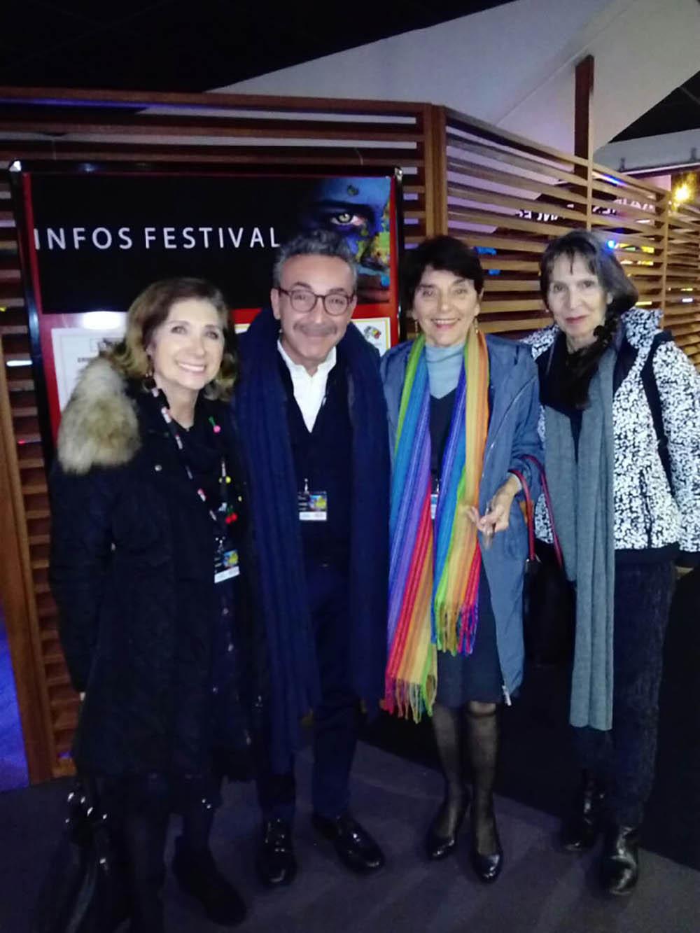 L'acteur Filippo  Luna du film Sicilian Ghost Story avec Viviane,  Monique et José