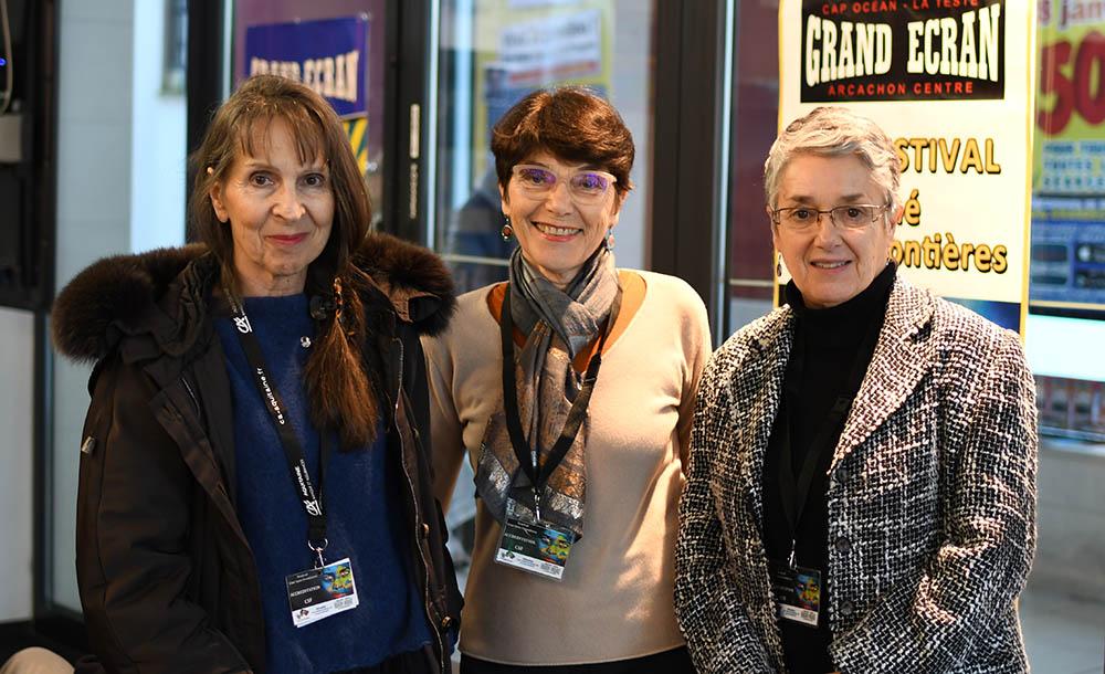 José Léandri, Monique Plasseraud, Françoise Nogues