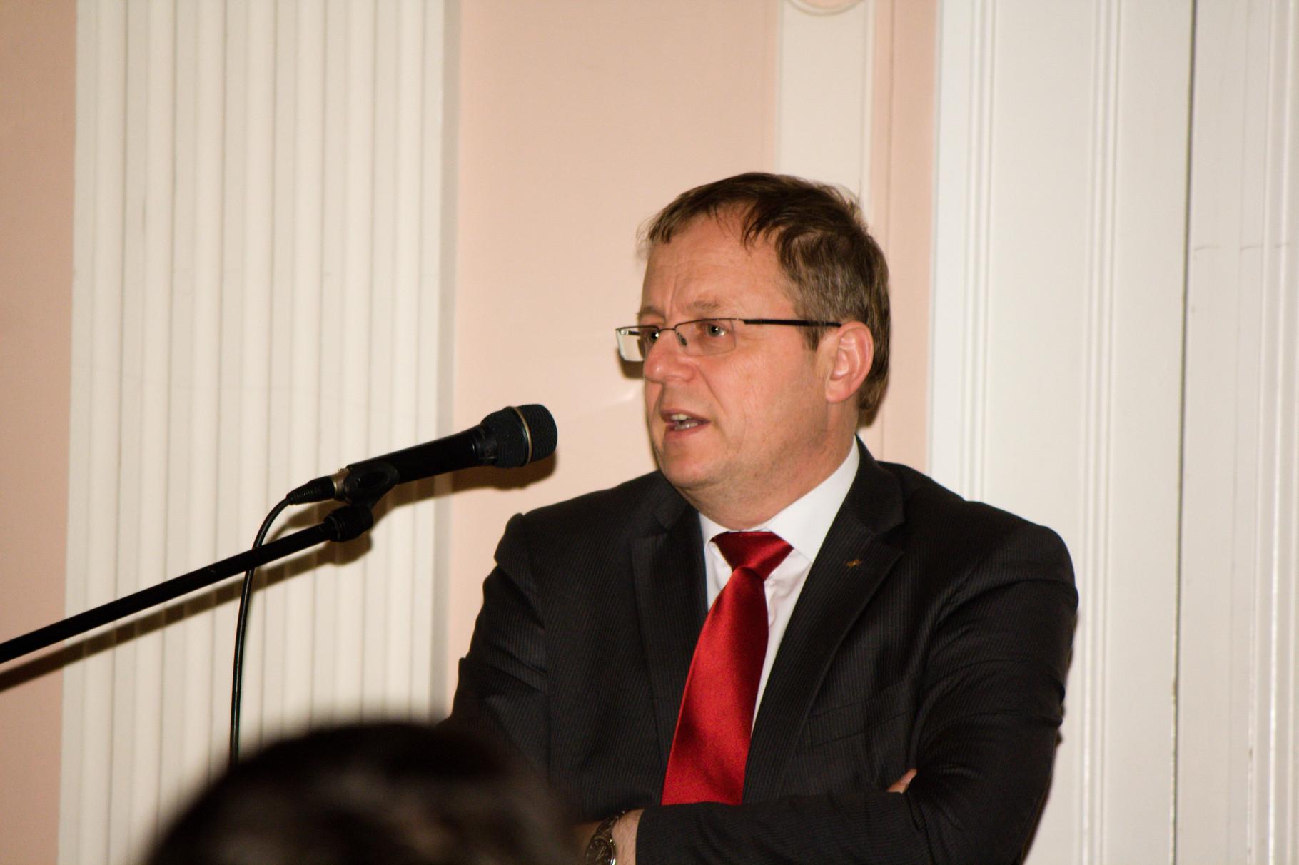 Prof. Dr.-Ing. Johann-Dietrich Wörner (2013) - Bauen im Weltraum