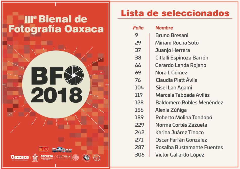 3ª Bienal de Fotografia Oaxaca - Messico