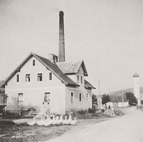 Die alte Ziegelei im Jahr 1937