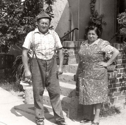 Franz Xaver und Barbara Meyer