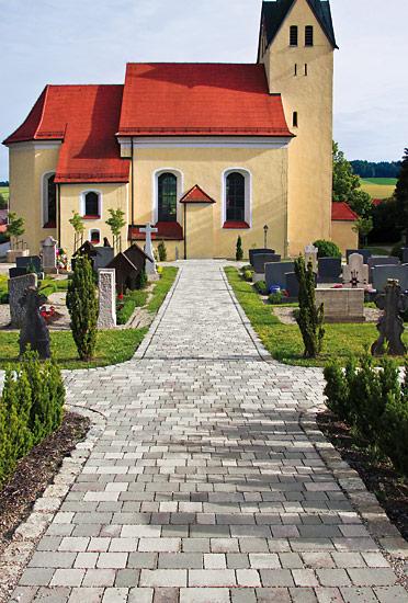 Klostergasse grau-marmoriert, Reihenverband