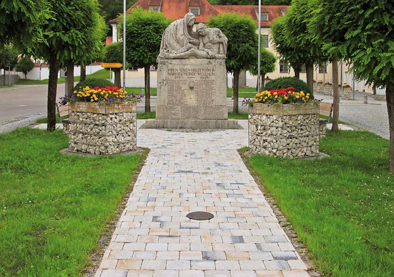 Burghof muschelkalk-marmoriert