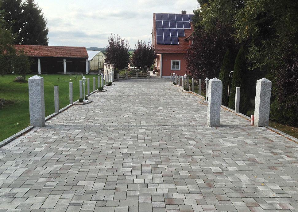 Römerpfad grau-marmoriert