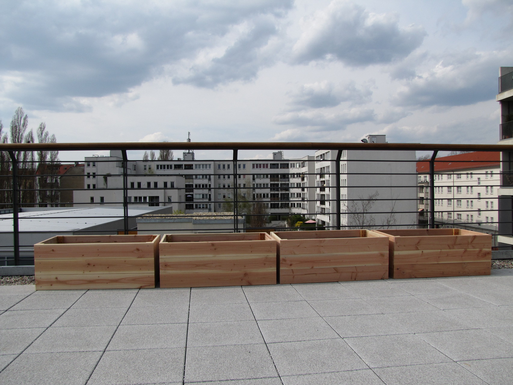 Dachterrasse in Berlin