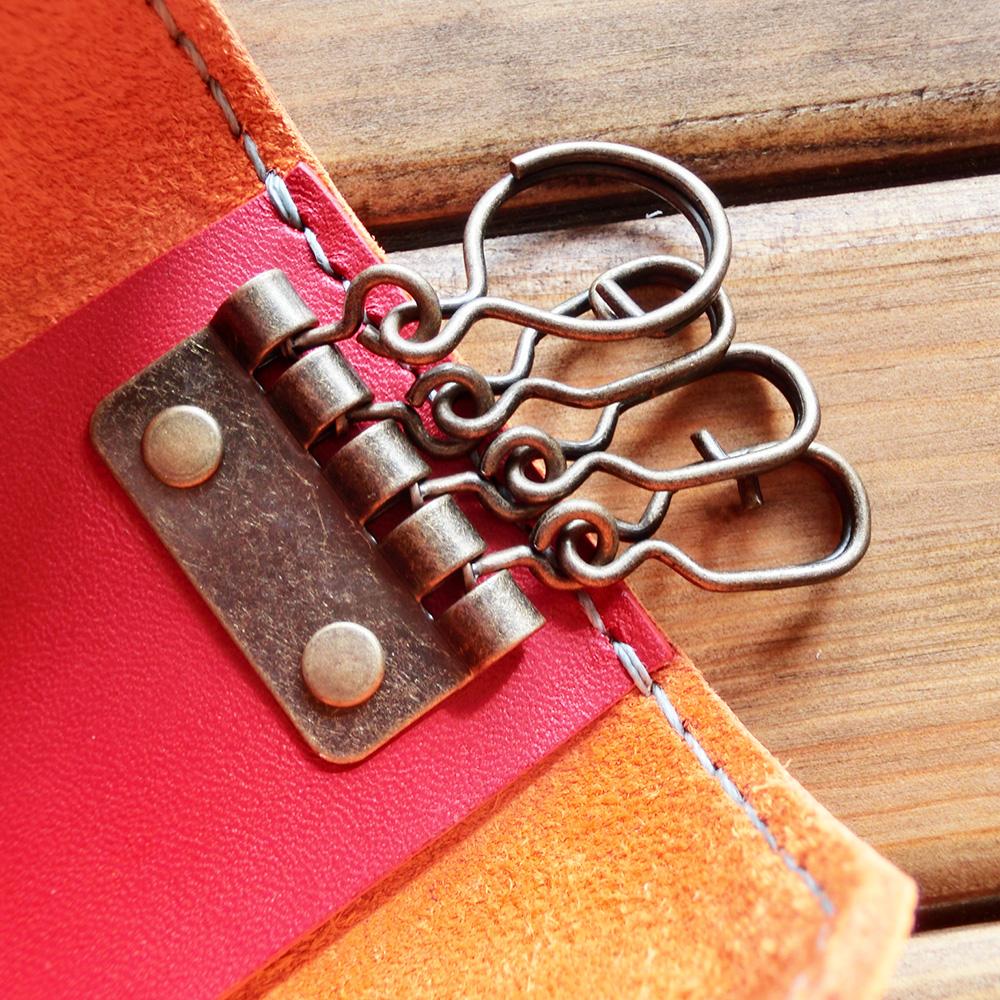 キーケース(牛革/手縫い)