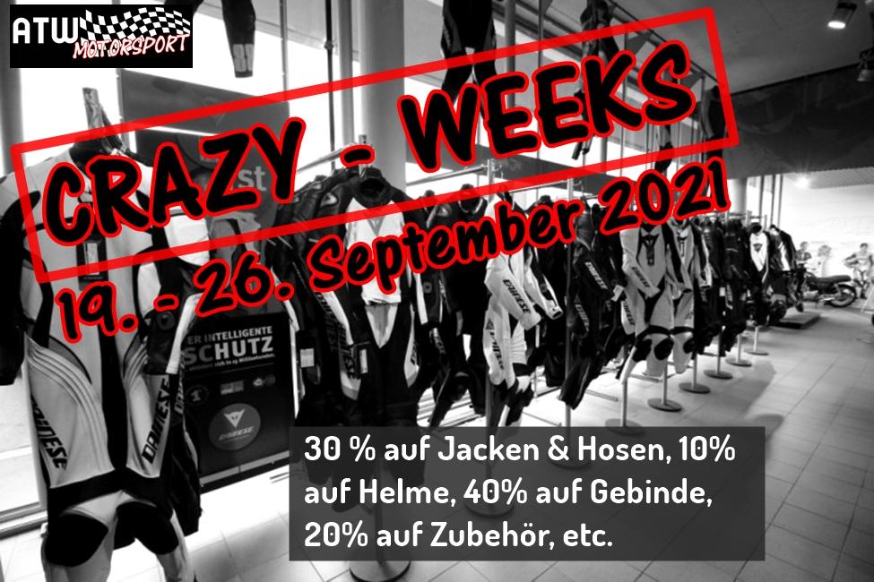 ATW Crazy-Weeks - Der Saison- Schlussverkauf