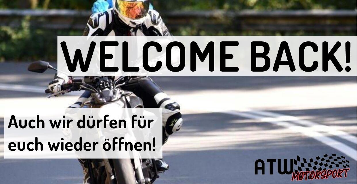 Welcome back! Wir sind wider da.