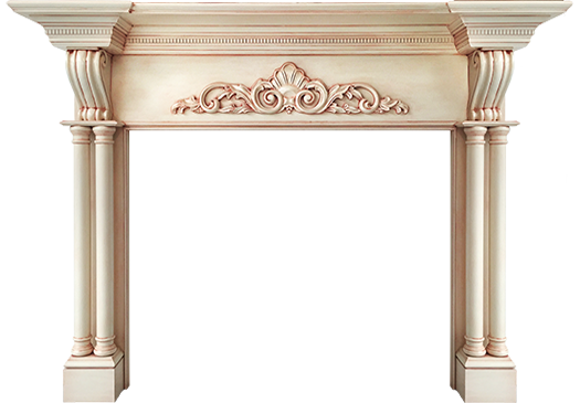Raleigh Mantel Custom Wood Fireplace Mantel Surrounds