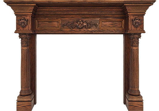 Baltimore Wood Fireplace Mantel - the Ultimate Decorative Design
