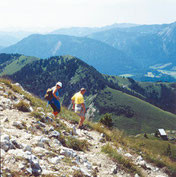 Hiking in the Alp region Tegernsee-Schliersee