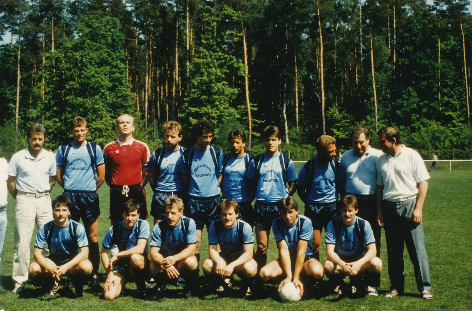 1. Mannschaft des SV Geinsheim